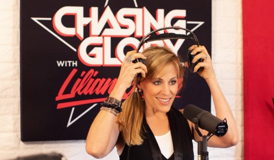 WWE star Lilian Garcia on the Chasing Glory podcast