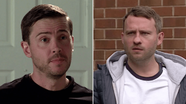 Todd and paul in Coronation Street