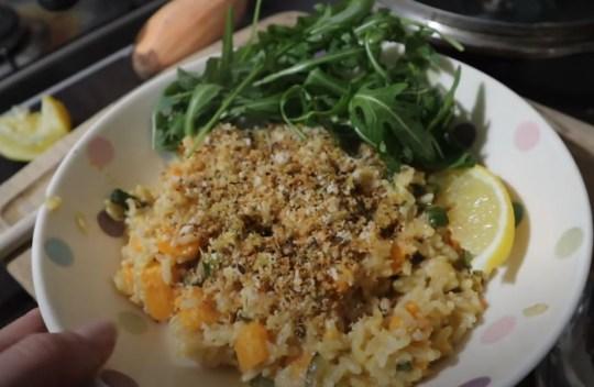 lara jarvis easy recipe for veggie rice