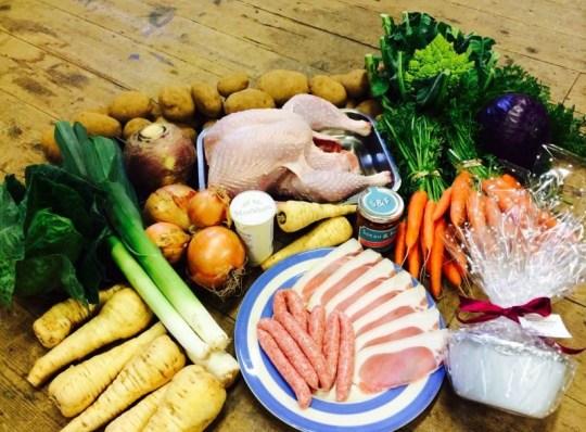 Cornish Food Company Christmas dinner box