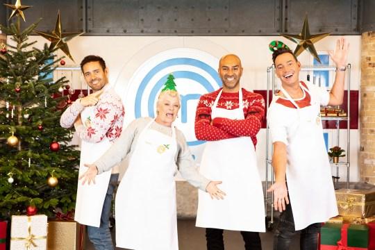 Masterchef Celebrity Christmas Cook-Off
