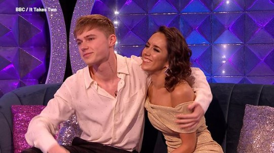HRVY thanks Janette Manrara for 'loving me when I couldn't always love myself'
