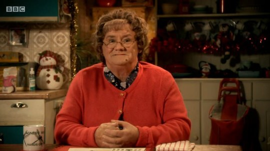 Mrs Brown's Boys Christmas special (Picture: RTÉ One/BBC)