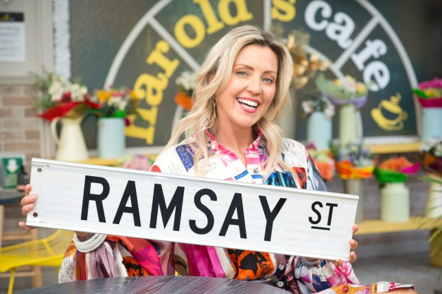 Amy Greenwood in Neighbours