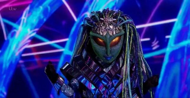 Alien on Masked Singer