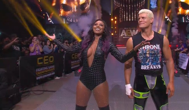 AEW stars Brandi and Cody Rhodes