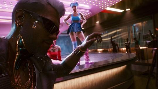 Cyberpunk 2077 screenshoot