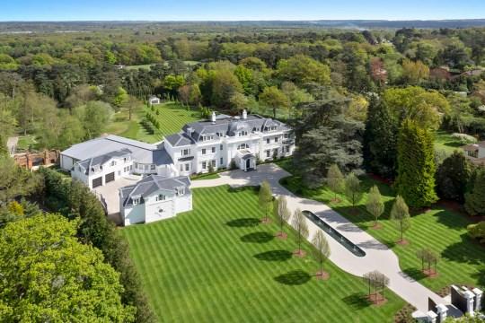 rightmove most viewed properties: east road seven-bedroom house weybridge, surrey