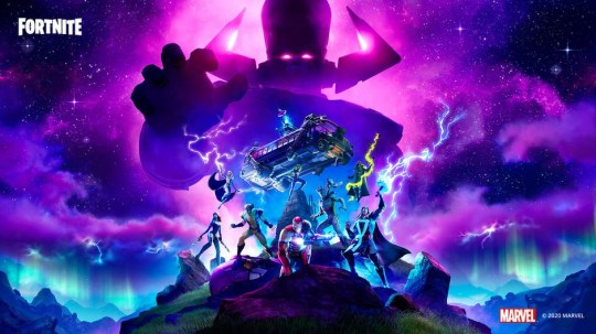 Galactus Fortnite artwork