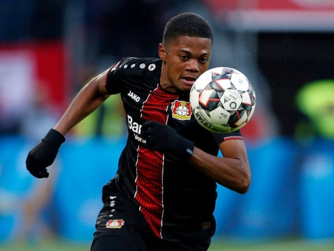 Manchester United and Arsenal among clubs scouting Bayer Leverkusen star Leon Bailey