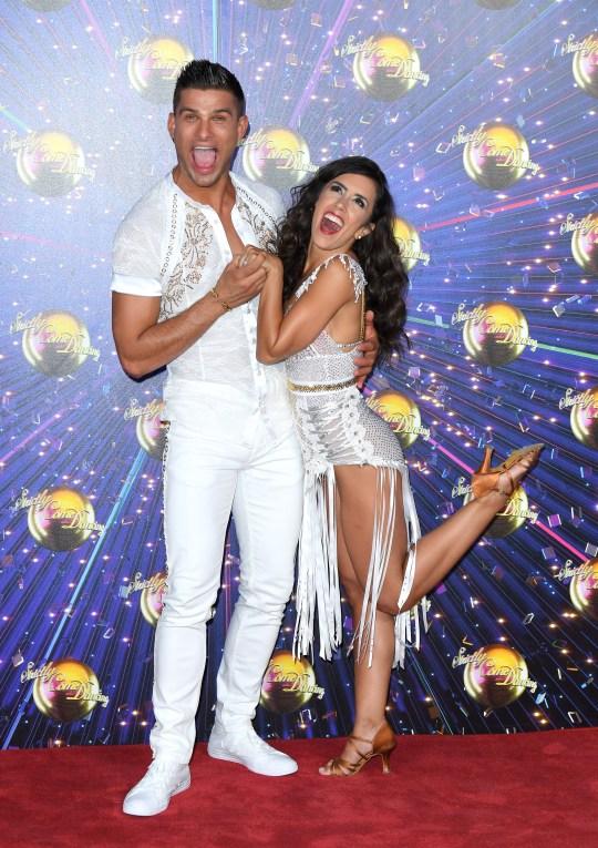 Strictly Come Dancing stars Aljaz Skorjanec and Janette Manrara