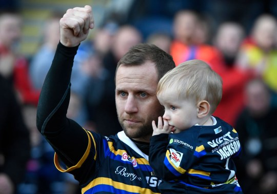 Leeds Rhinos legend, Rob Burrow, who has diagnosed with motor neurone disease, has been honoured