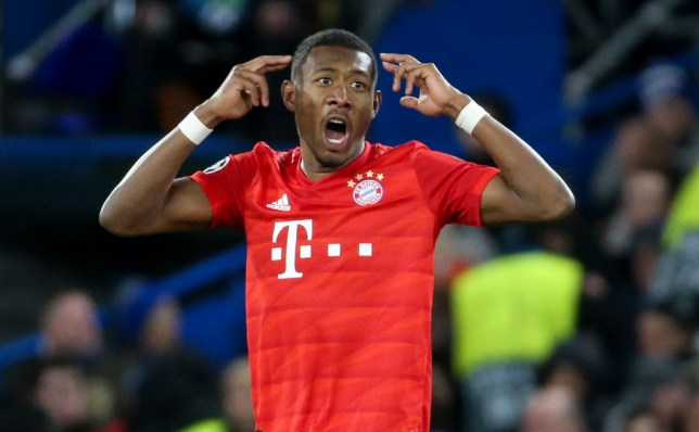 Bayern Munich defender David Alaba has been linked with a move to Chelsea