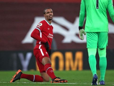 Jurgen Klopp gives latest update on Joel Matip injury after Newcastle draw