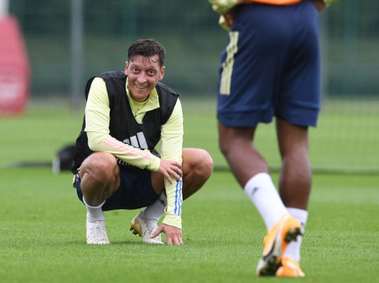 Mesut Ozil already seems to have played his last game with Arsenal