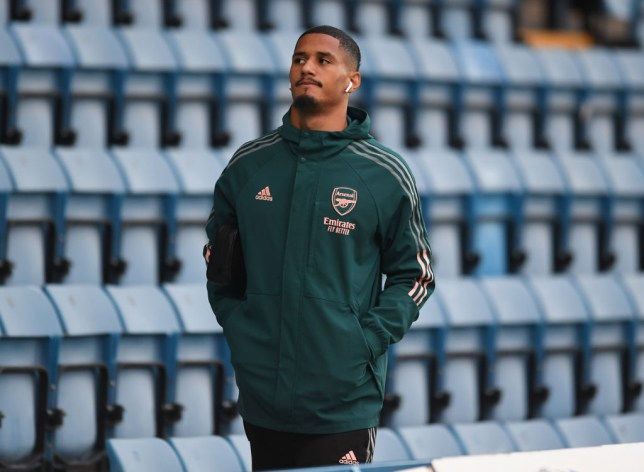 William Saliba is still to make his first team debut for Arsenal