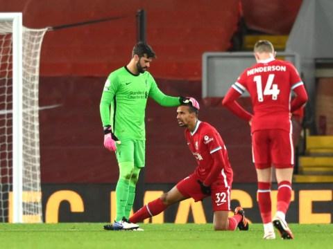 'Not too good' – Jurgen Klopp provides Joel Matip injury update after Liverpool draw with West Brom