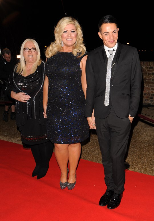 Gemma Collins, Bobby Norris and Joan Collins.
