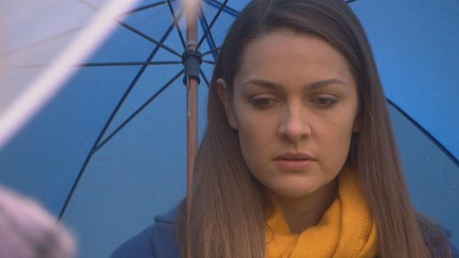 Sienna in Hollyoaks