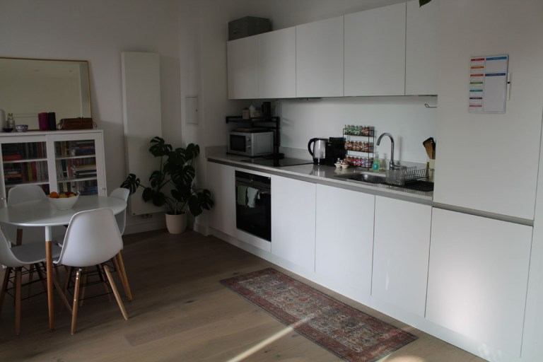 What I Rent: Kelsey, one-bedroom flat in Archway, London - kitchen