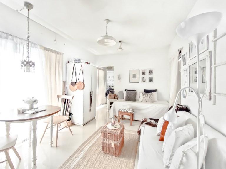 What I Rent: Rukmini, one-bedroom apartment in Mumbai - the living room