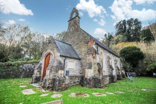 converted chapel home in devon
