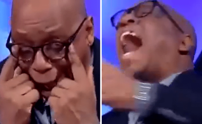 Ian Wright went through all the emotions in the space of 60 seconds following Bukayo Saka's goal against Chelsea