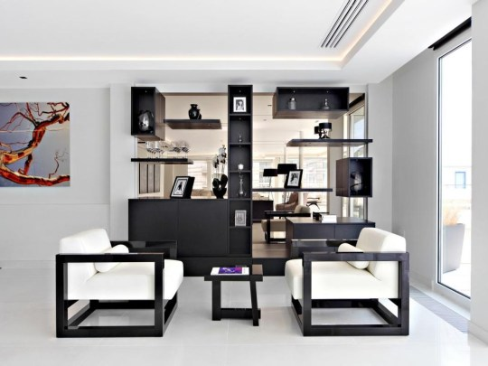 interiors of chelsea penthouse