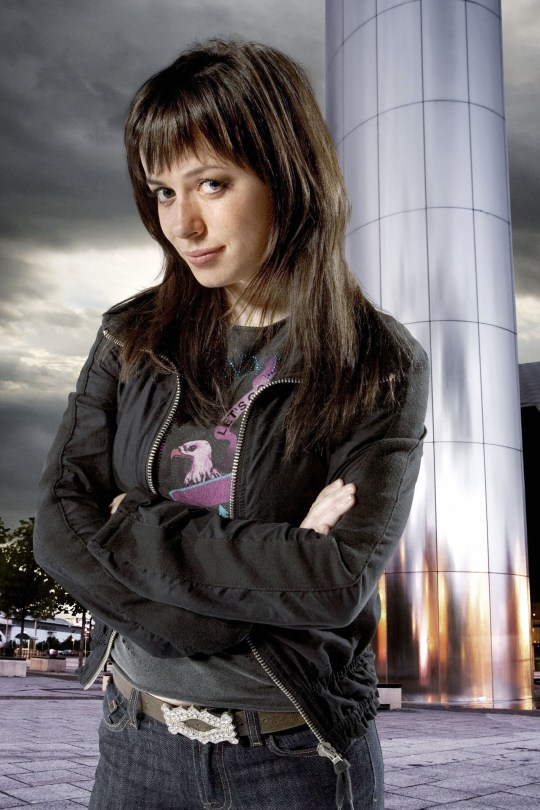 Torchwood star Eve Myles as Gwen Cooper