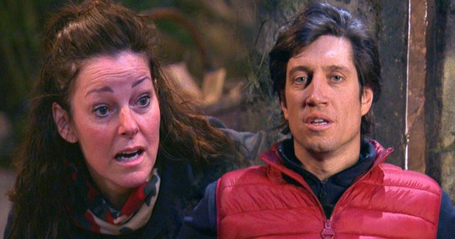 Vernon and Ruthie i'm a celebrity