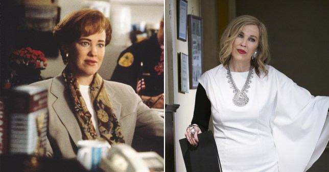 Catherine O'Hara in Home Alone and Schitts Creek