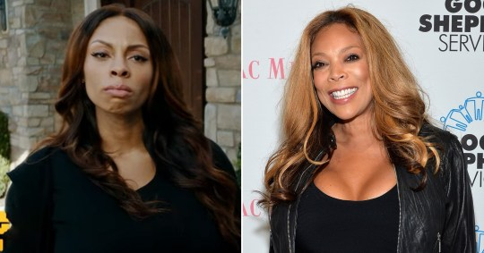 Ciera Payton plays Wendy Williams in Wendy Williams: The Movie