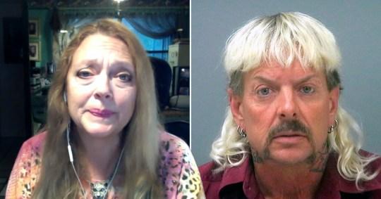 Carole Baskin reveals she and Joe Exotic have never actually spoken despite 'feud'