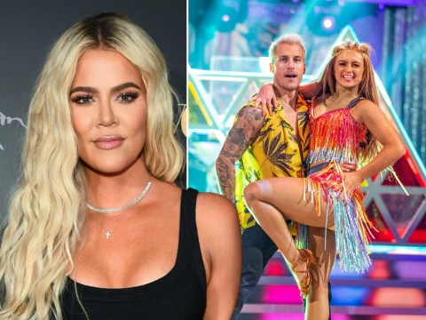 Strictly Come Dancing 2020: Khloe Kardashian fangirls over Maisie Smith as she praises her 'beautiful legs'
