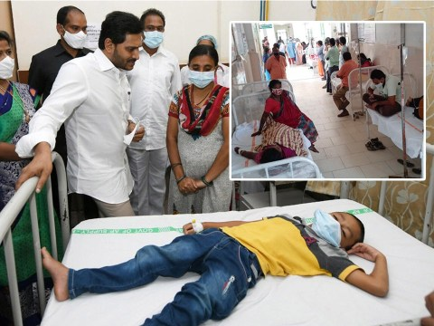 One dead and over 450 in hospital with mystery illness in India