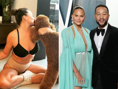 John Legend gets frisky in the comments as he leaves X-rated note on Chrissy Teigen's underwear snap