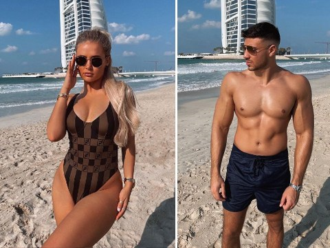 Inside Molly-Mae Hague and Tommy Fury's lavish Dubai holiday as they meet up with Maura Higgins and Chris Taylor