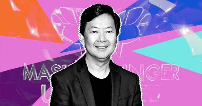 Ken Jeong on The Masked Singer UK