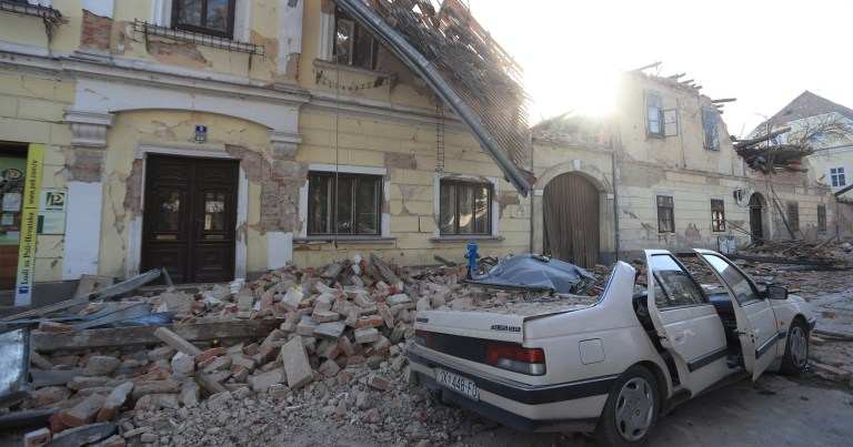 Croatia earthquake: One woman reported useless, others injured