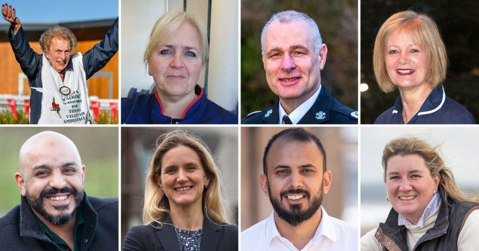 New Year Honours: Covid heroes and NHS key workers recognised by the Queen