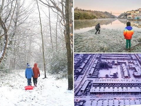 Temperatures plummet to -8C as snow to hit parts of UK on New Year's Eve