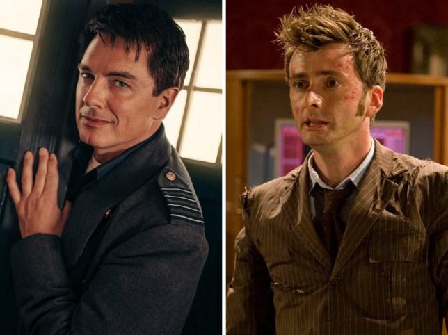 David Tennant and John Barrowman reunite for new Doctor Who adventure