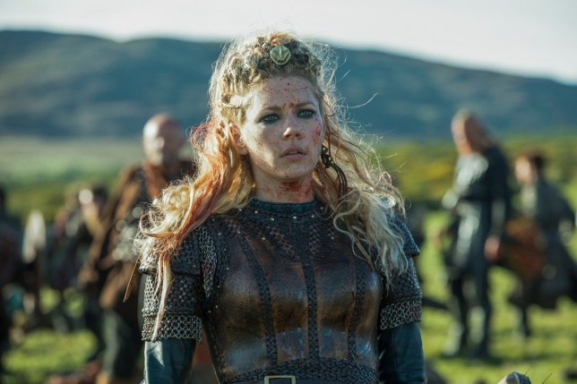 Editorial use only. No book cover usage. Mandatory Credit: Photo by MGM/Kobal/REX (10056246aa) Katheryn Winnick as Lagertha 'Vikings' TV Show Season 5 - 2018 Vikings transports us to the brutal and mysterious world of Ragnar Lothbrok, a Viking warrior and farmer who yearns to explore - and raid - the distant shores across the ocean.