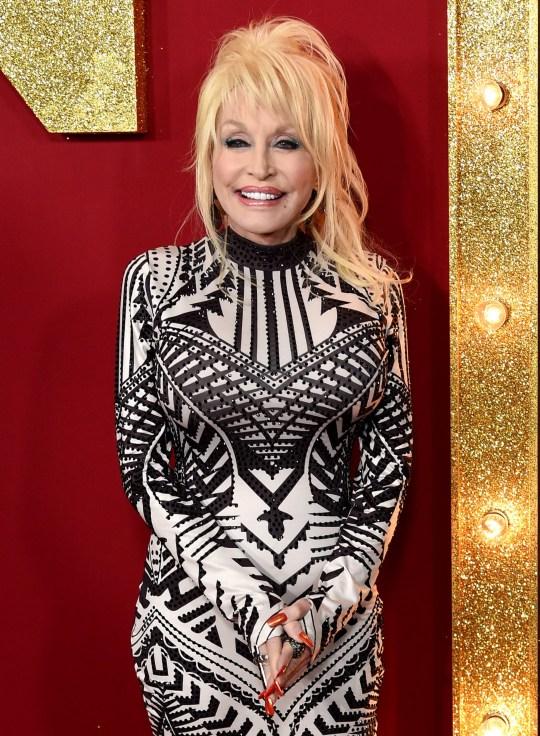 Dolly Parton.