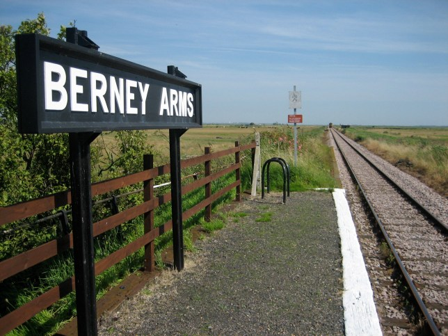 2012 photo of Berney Arms Station, near Gt Yarmouth in Norfolk, which has been identified as Britain's least used railway station in the past year by the Office of Rail and Road. PA Photo. Issue date: Tuesday December 1, 2020. Just 42 passengers used the station between April 2019 and March 2020. See PA story RAIL Station. Photo credit should read: Ian Jones/PA Wire