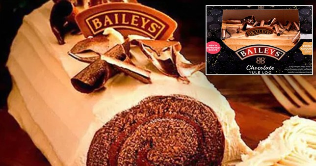The Baileys Chocolate Yule Log is back in supermarkets