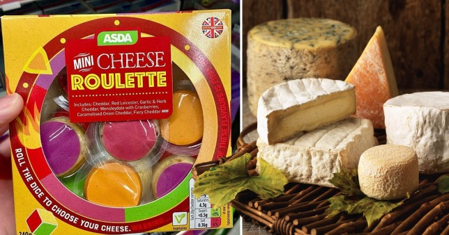 Asda has launched a mini cheese roulette
