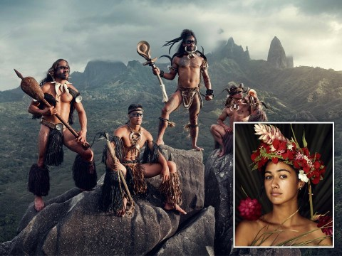 Photographer captures lives of untouched tribes on remote Pacific island