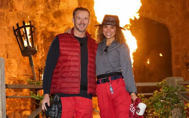Russell Watson and Jessica Plummer leave I'm A Celeb