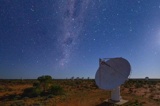 (Picture: CSIRO) The Australian Square Kilometre Array Pathfinder (ASKAP), developed and operated by Australia?s national science agency, CSIRO, mapped approximately three million galaxies in just 300 hours. The Rapid ASKAP Continuum Survey is like a Google map of the Universe where most of the millions of star-like points on the map are distant galaxies ? about a million of which we?ve never seen before. CSIRO Chief Executive Dr Larry Marshall said ASKAP brought together world-class infrastructure with scientific and engineering expertise to unlock the deepest secrets of the Universe.
